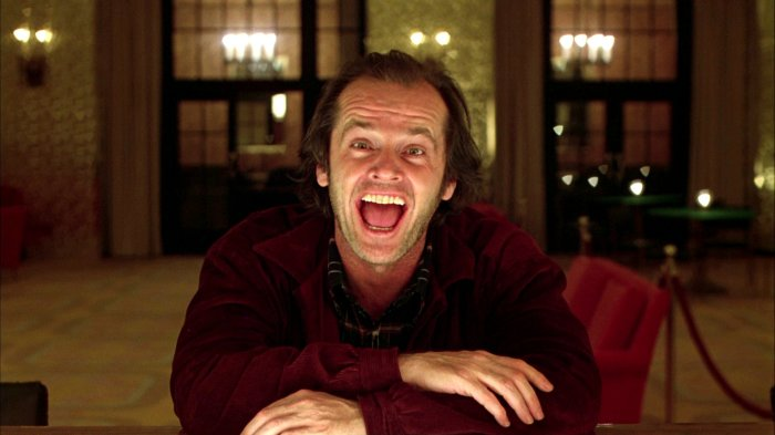 The Shining (1980) Jack Nicholson as Jack Torrance